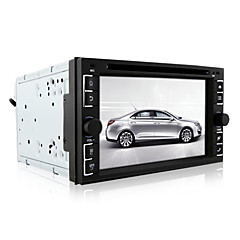 billiga DVD-spelare till bilen-6.2inch 2 Din 800 x 480 Android 4.4 Bildvd-spelare för Universell BADDA - DVD-R / RW DVD+R / RW AVI MPEG4 CD CD-R / RW CD+R / RW VCD
