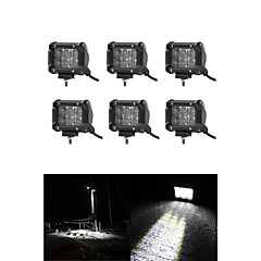 Χαμηλού Κόστους Φώτα Ημέρας-6pcs Αυτοκίνητο Λάμπες 30 W 3000 lm 36 LED Φως Εργασίας