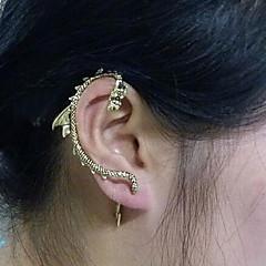 Ear Cuffs Cyrkonia Stop Smok Gold Biżuteria Na 2pcs