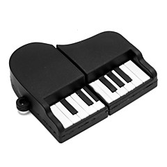 zpk02 16gb zwarte piano usb 2.0 flash-geheugen u de stok