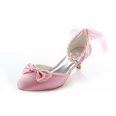 olcso -Női - Magassarkú / Kerek orrú - Esküvői cipők - Magassarkú - Esküvői / Ruha / Party és Estélyi - Rózsaszín