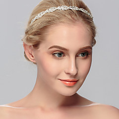 cheap Hair Jewelry-Rhinestone Headbands 1 Wedding Special Occasion Casual Office & Career Outdoor Headpiece