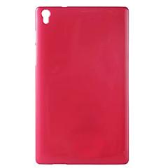 billige Nettbrettetuier-Etui Til Lenovo Bakdeksel Tablet Cases Helfarge Myk TPU til