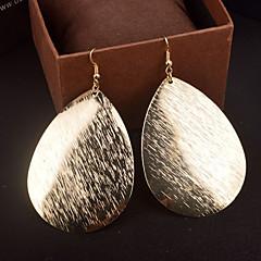 בגדי ריקוד נשים עגילי טיפה תכשיטים גדולים מותאם אישית תכשיטים סגסוגת תכשיטים תכשיטים עבור חתונה Party יומי קזו'אל
