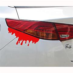 14 * 5cm carro sangramento personalidade reflexiva adesivos (1pcs)