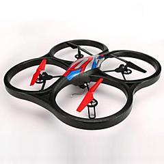 billiga Drönare och radiostyrda enheter-RC Drönare WL Toys V666 4 Kanaler 6 Axel 2.4G Med HD-kamera 720P Radiostyrd quadcopter FPV / Huvudlös-läge / 360-Graders Flygning / Sväva