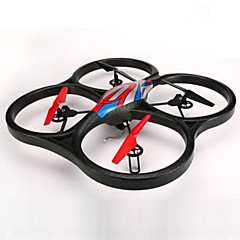 billige Fjernstyrte quadcoptere og multirotorer-RC Drone WL Toys V666 4 Kanaler 6 Akse 2.4G Med HD-kamera 720P Fjernstyrt quadkopter FPV / Hodeløs Modus / Flyvning Med 360 Graders Flipp