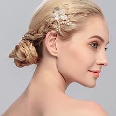 חיקוי שיער הפנינה מסרקים headpiece בסגנון נשי קלאסי
