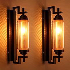 Χαμηλού Κόστους Ξεχωριστές απλίκες-AC 100-240 40 E12/E14 Παραδοσιακό/Κλασσικό Ζωγραφιά Χαρακτηριστικό for Mini Style,Ατμοσφαιρικό Φως Απλίκες Τοίχου Wall Light