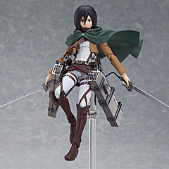 Attack on Titan Mikasa Ackermann PVC Anime Toimintahahmot Malli lelut Doll Toy