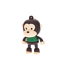 billige -4GB Cute Rubber Monkey USB Flash Drive