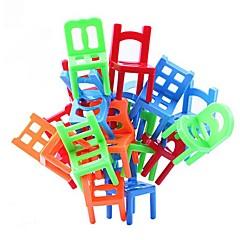 Bausteine Spielzeuge Stuhl 18 Stücke Jungen Mädchen Geburtstag Weihnachten Kindertag Geschenk