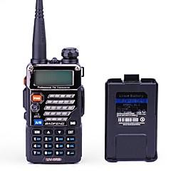 billige Walkie-talkies-BAOFENG UV-5RB Walkie-talkie Håndholdt Digital Lader og adapter Stemmekommando Strømskifter høy/lav Type walkie-talkie CTCSS/CDCSS LCD FM
