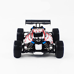 RC Car WL Toys A959 4ch 2,4G Off Road Car Korkea nopeus 4WD Drift Car Lastenvaunut 1:18 45 KM / H Kauko-ohjain Ladattava Sähköinen
