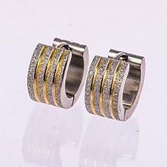 Недорогие -Муж. Серьги-гвоздики Серьги-кольца бижутерия Бижутерия Назначение Свадьба Для вечеринок Повседневные
