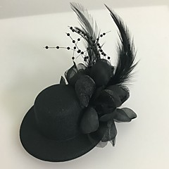 billige -Tullefjær fascinators headpiece klassisk feminin stil