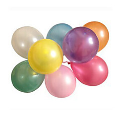 100pcs/lot Latex Helium Inflable tuuheuttava Pearl häät tai Birthday Party Balloon