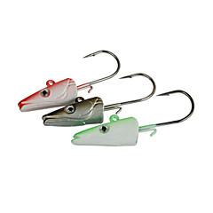 Vissen-6 pcs Groen / Zilver / Rood Metaal-Brand  NewAas Uitzoeken / Draaiend / Zoetwater Vissen / Zeebaars Vissen / Vissen Met Aas /