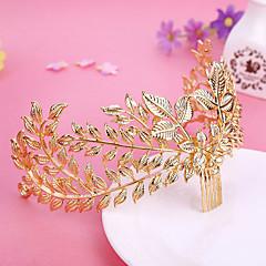 Χαμηλού Κόστους -κράμα μαλλιών χτένα λουλούδια headpiece κομψό κλασικό θηλυκό στυλ
