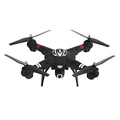 billige Fjernstyrte quadcoptere og multirotorer-RC Drone WLtoys Q303-A 4 Kanaler 6 Akse 2.4G Med 720 P HD-kamera Fjernstyrt quadkopter En Tast For Retur / Auto-Takeoff / Hodeløs Modus Fjernstyrt Quadkopter / Fjernkontroll / Kamera / Sveve / Sveve