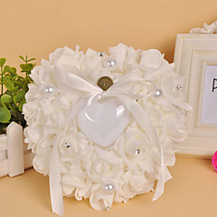 Fresh Pearl Heart Shape Ring Pillow The Wedding Store Wedding Theme
