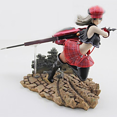 God Eater Alice PVC Anime Toimintahahmot Malli lelut Doll Toy