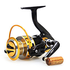 Baitcast Reels 5.5:1 12 Ball Bearings Exchangable Sea Fishing / Bait Casting / Freshwater Fishing-Baitcast Reels