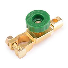 Jtron 400A Car Battery Power Switch / Battery Switch Head - Golden+Green