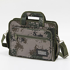 billiga Laptop Bags-15inch kamouflage laptop väska / fodral för företag / student armén grönt
