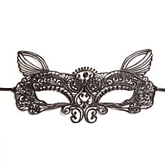 cheap Party Headpieces-Lace Headwear Masks with Floral 1pc Wedding Special Occasion Headpiece