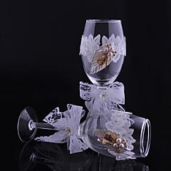 blonde blade kopper kombination ristning fløjter bryllup reception