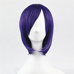 billiga Peruker och hårförlängning-Syntetiska peruker Naturligt vågigt Bob-frisyr Dam Utan lock Karneval peruk Halloween Paryk Syntetiskt hår