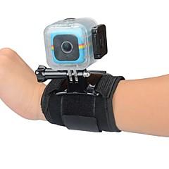 tanie Akcesoria do GoPro-Opaska na nadgarstek Na ramiączkach Wodoszczelna obudowa Monopod Wiązanie Wodoodporne Dla Action Camera Polaroid Cube Univerzál