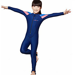 Dive&Sail Boys' / Girls' Dive Skin Suit SPF50, UV Sun Protection, Quick Dry Tactel Full Body Swimwear Beach Wear Diving Suit Diving / Surfing / Snorkeling