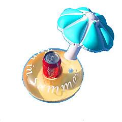 Bebida inflável inflável Float piscina inflável Brinquedos Circular copo Criança 3 Peças