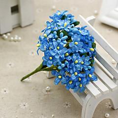billige Kunstige blomster-Kunstige blomster 1 Gren Pastorale Stilen Brudeslør Bordblomst