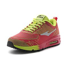 Erke 35-40 Sneaker Damen Polsterung Atmungsaktiv Halbschuhe Atmungsaktive Mesh Gummi Rennen Wandern
