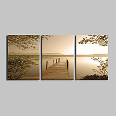 cheap Wall Art-Print Rolled Canvas Prints - Landscape Classic Traditional