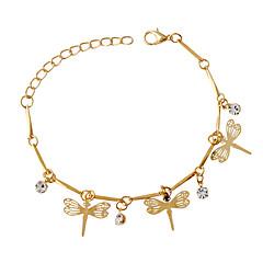 Naisten Amuletti-rannekorut Muoti Metalliseos Animal Shape Kultainen Korut Varten 1kpl