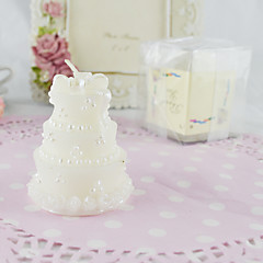 The Classic Wedding Cake Candle(Set of 2) Wedding Favors Beautiful