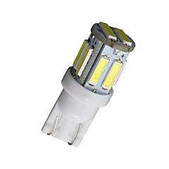20-pakning T10 W5W 192 168 194 7014 10smd 7020 10 LED sidelys LED kile lys 12v