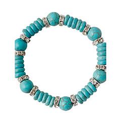 צמידים צמידי Strand סגסוגת Circle Shape אופנתי חתונה תכשיטים מתנות ירוק,1pc