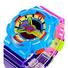 cheap Men's Watches-SANDA Men's Digital Watch / Sport Watch Alarm / Calendar / date / day / Water Resistant / Water Proof Rubber Band Camouflage