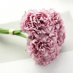 billige Kunstige blomster-Kunstige blomster 1 Gren Moderne Stil Peoner Bordblomst