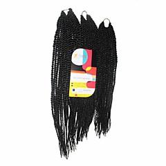 billiga Peruker och hårförlängning-Senegal 100% kanekalon hår Hårförlängningar av äkta hår twist Flätor Hårflätor Dagligen