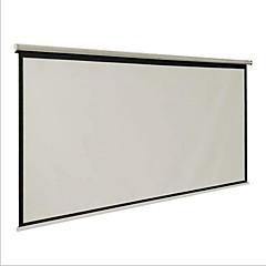 screen brief begaafde 100-inch 16 9 gordijnen en met de hand conferentieruimte projector witte plastic huishoudelijk
