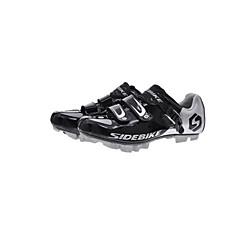BOODUN/SIDEBIKE® Mountain Bike-sko Sykkelsko joggesko Unisex Demping Utendørs Fjellsykkel PU ånd bare Blanding Sykling