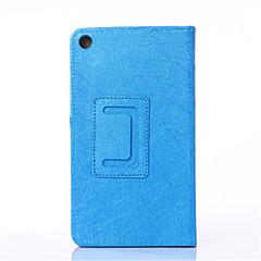 billige Nettbrettetuier-Etui Til Lenovo Heldekkende etui Tablet Cases Hard PU Leather til