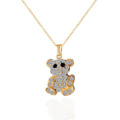 Necklace Choker Necklaces / Pendant Necklaces / Pendants Jewelry Alloy / Rhinestone Wedding / Party / Daily