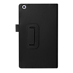 billige Nettbrettetuier-Etui Til Asus Heldekkende etui Tablet Cases Ensfarget Hard PU Leather til
